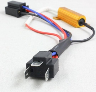 2x Resistencia Antierror Destello Led H4