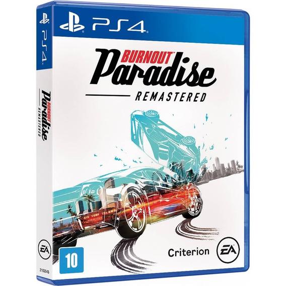 Burnout Paradise Remastered - Ps4 Mídia Física Novo Lacrado