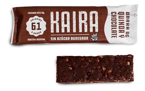 Barra De Quinoa Y Chocolate Kaira Pack X12u