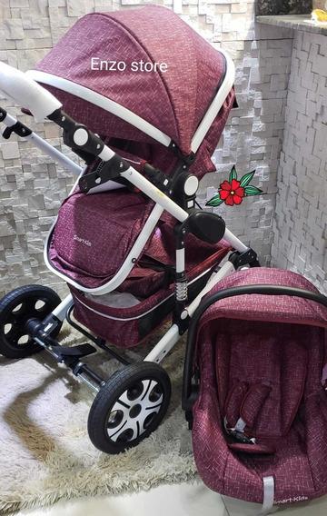 Baby Car Stroller Importado Berço Moisés Passei + Bb Confort