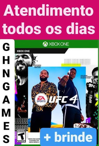 Ufc 4 + Brinde Xbox One Mídia Digital Envio Imediato