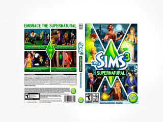 Los Sims 3 Supernatural Pc - Origin Key - Entrega Inmediata