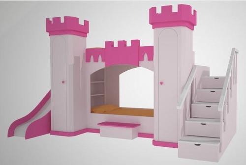 Cama Infantil, Castillo, Princesa, Cama,niño, Niña