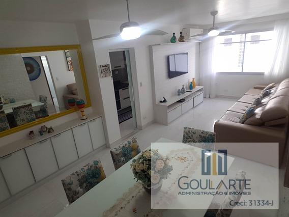 Apartamento Para Alugar No Bairro Pitangueiras Em Guarujá/sp - 3242