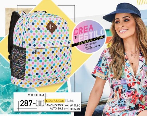 Mochila Multicolor 287-00 Cklass Primavera-verano 2020