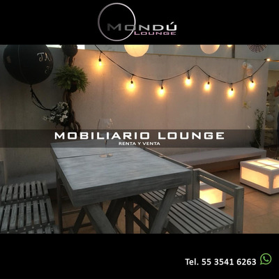 Renta Venta Mesas Periqueras Salas Lounge Mobiliario Eventos