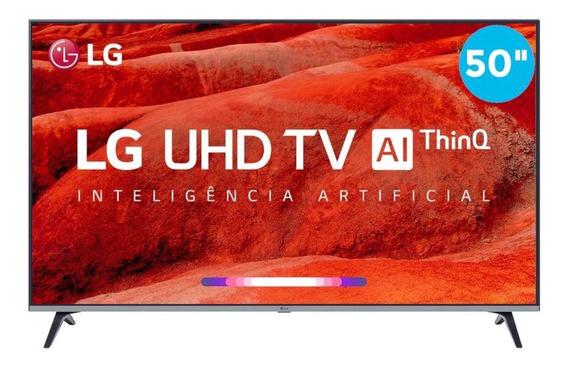 Smart Tv 4k 50 LG Led Uhd Um7510psb Hdr 4 Hdmi 2 Usb