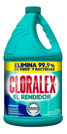 Blanqueador Cloralex El Rendidor 3.75 L