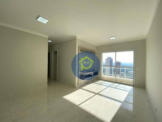 Apartamento No Akadia Com 3 Dormitórios Para Alugar, 77 M² Por R$ 2.200/mês - Bom Jardim - São José Do Rio Preto/sp - Ap7533