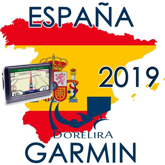 Mapas Garmin Gps España Ruteables Actualizado 2019