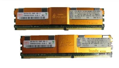 Memoria Ibm 4 Gb (2 X 2 Gb) Pc2-5300 Ddr2 667 Mhz 39m5790