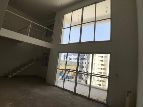 Apartamento Duplex Com 3 Dormitórios À Venda, 157 M² Por R$ 1.347.600,49 - Vila Brandina - Campinas/sp - Ad0002