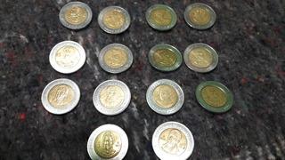 Monedas De 5 Pesos Centenario De La Revolcion Y Bicentenario