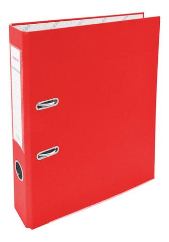 Bibliorato A4 Angosto Rojo Teoria+