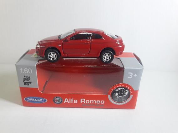 Welly Alfa Romeo Gt 1:60 Ruedas Goma Pull Back