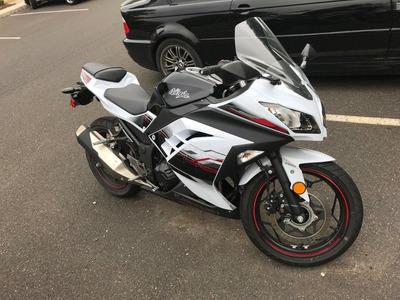 Ninja 2017 Blanco Kawasaki 300 Abs
