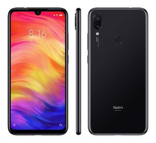 Celular Smartphone Xiaomi Redmi Note 7 64gb 48 Mp Global + Capa + Película+ Fone Menor Preço Note 7