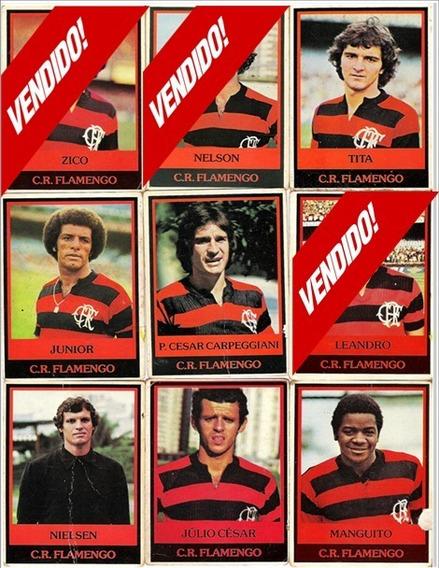 Flamengo - Futebol Cards Ping Pong - 20,00 Cada Jogador