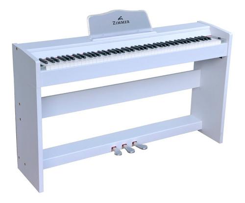 Piano Digital Zimmer Zim-2200-wht