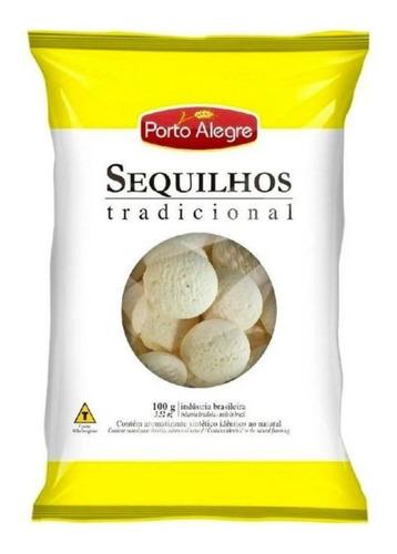 Biscoito Sequilhos Tradicional Porto Alegre 100 Grs
