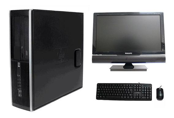 Computador Hp 8200 I5 4gb 240ssd Monitor Tv 18,5 Polegadas