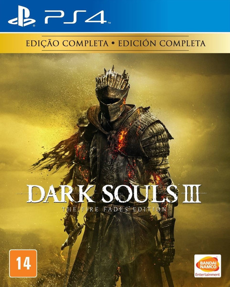 Ps4 Dark Souls 3 Fire Fades Edition Mídia Física Lacrado