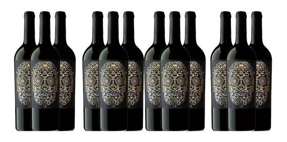 Caja De 12 Vino Tinto Demuerte Gold 0,75l Winery-on