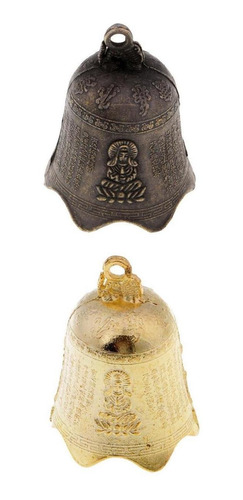 Imagen 1 de 8 de 2 Unids Feng Shui Chino Campana De Viento Antiguo Carillón