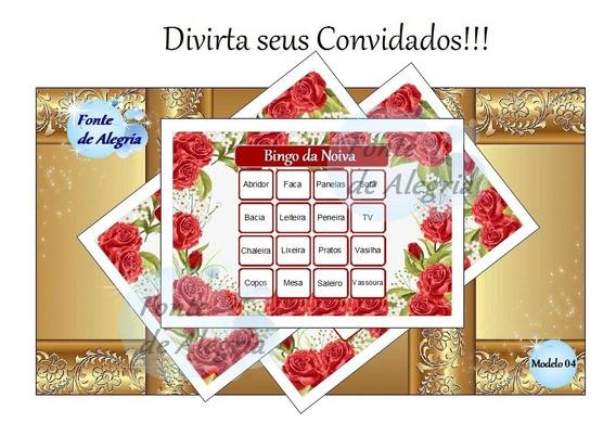 52 Bingos De Chá De Cozinha - Noiva - Panelas Personalizados