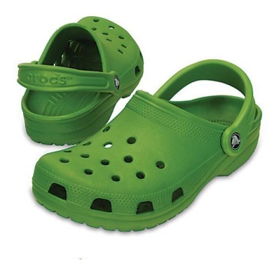 Crocs Classic Parrot Green Rommy