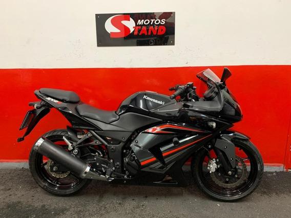 Kawasaki Ninja 250 R 250r 2012 Preta Preto