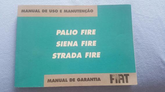 Manual Fiat Palio Siena Strada 2007 Fire 1.0 1.4 8v Flex