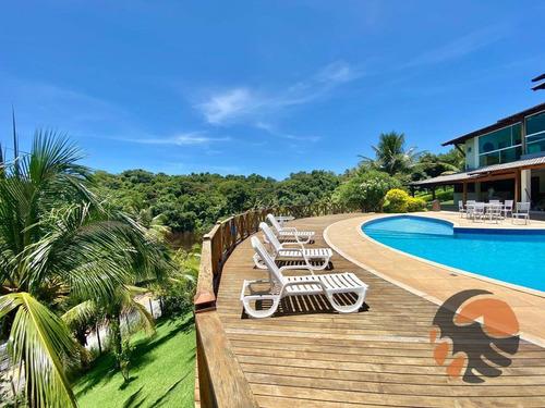 Casa Com 6 Suítes À Venda, 600 M² - Lagoa Da Praia - Guarapari/es - Ca0480