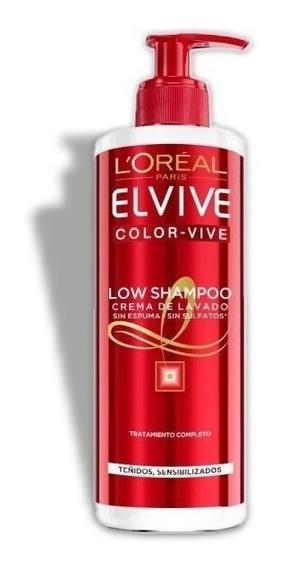 Crema De Lavado Para Cabello Low Shampoo Color-vive Loreal