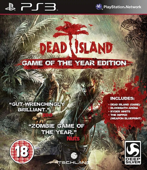 Dead Island Game Of The Year Edition Ps3 Psn - Jogo Play 3