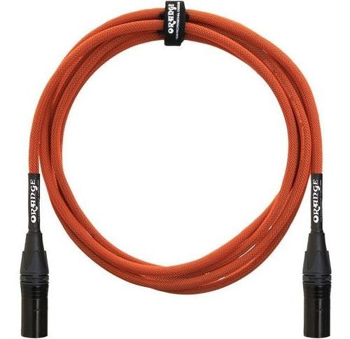 Cable Para Microfono Orange Xlr 20 Feet 6 Metros