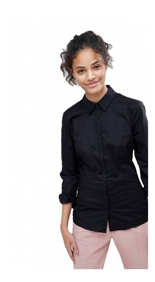 Pack X10 Camisa Elastizada Lisa Dama Por Mayor - Empresas