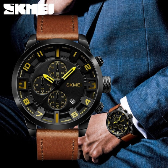 Relógio Masculino Skmei Original Esportivo Militar