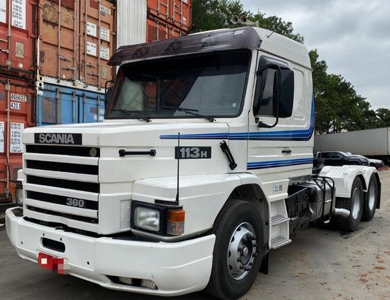 Scania 113 360 Topline 6x2