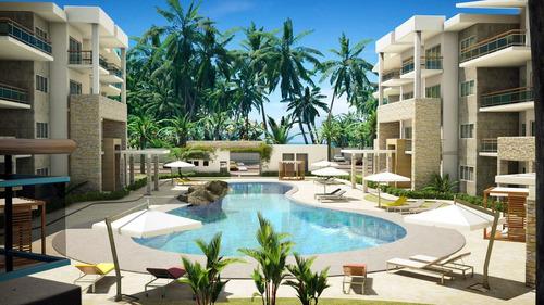 Imagen 1 de 9 de Apartamento Frente Al Mar, En Playa Coral Punta Cana Wpa68 B