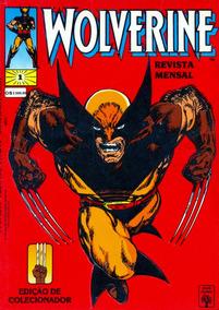 Gibi Wolverine Nº 1 Quadrinho 82 Pag Revista 1992