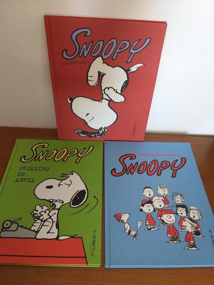 Snoopy 3 Volumes Cosac & Naify