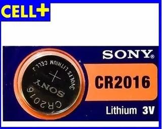 Pilas Sony Reloj,mainboard, Cr2016 Por Unidad