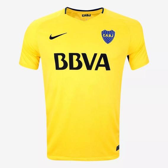 Camiseta Nike Boca Orig Alternativa Match 2017/18- Zarate#19