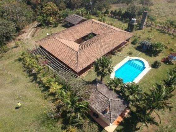 Chácara No Bairro Rio Acima, Área Total De 145.000 M², Lindo Imóvel. - Ch00111 - 32931552