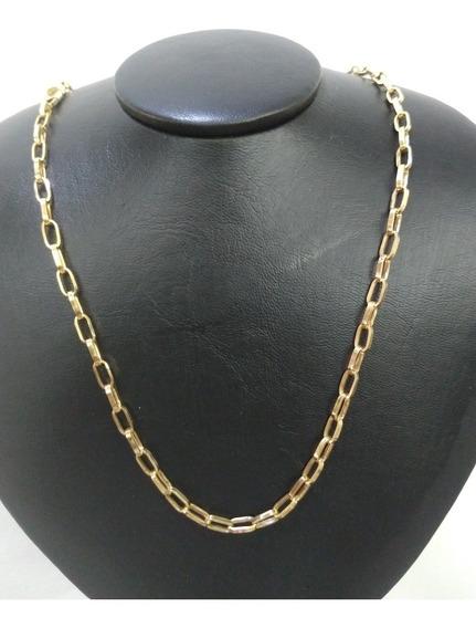 Corrente De Ouro18k Tijolinho Masculina Em 12x Sem Juros