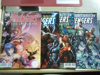 Comic Secret Invasion Avengers The Initiative 1 Al 4