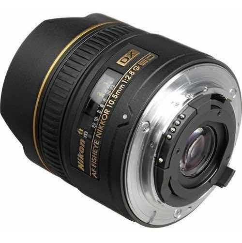 Lente Fisheye Nikon Nikkor 10.5mm
