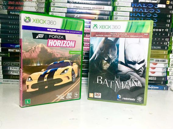 Forza Horizon Mais Batman De Brinde Original Para Xbox 360