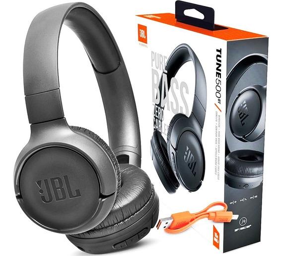 Fone De Ouvido Jbl T500bt Bluetooth Original + Frete Gratis